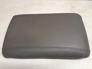 2003 2006 Ford Expedition Center Console Arm Rest Armrest Lid Grey Leather Oem