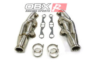 Obx Racing Turbo Header For 1966 1996 Gm Chevy Sbc Small Block Up