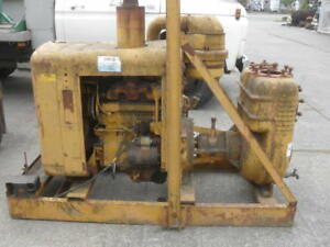 Barnes 6 Trash Water Self Priming Pump With 3 53 Detroit Diesel