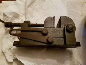 Vintage Palmgren No 00 Angle Tilting Drill Press Machinist Vise 2 1 2 Inch Usa