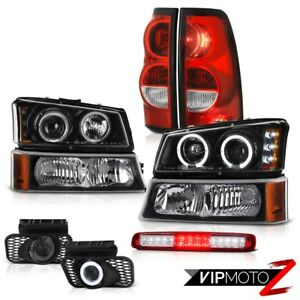 03 06 Chevy Silverado Red Roof Cargo Lamp Fog Lamps Taillights Bumper Headlamps