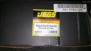 Jegs 4 11 Gm 12 bolt Truck Ring Pinion 8 875 Gears Differential