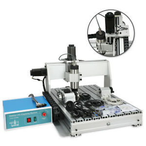 4 Axis Usb 800w Cnc 6040z Router Engraver Wood Drill milling Machine controller