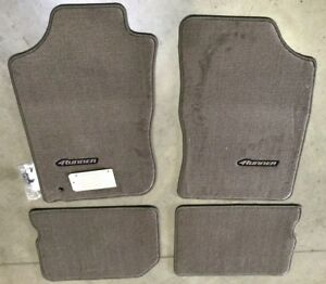 1996 2002 4runner Carpet Floor Mats Oak Beige Pt206 89010 14 Genuine Toyota Oem