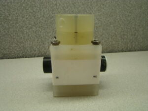 Furon An2 166 Pneumatic Valve 60psi nc hp