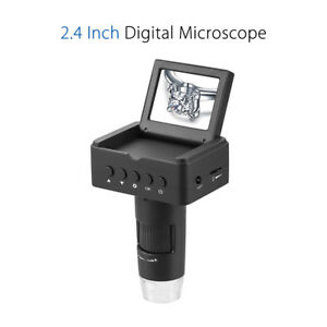 2 4 Inch Lcd 10 220x Digital Microscope Hd tv usb Output Measurement Portable