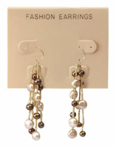 Hanging Tan Plastic Earring Cards 300 2 1 2 X 2 J Channel Display Card Hang