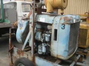 Gorman rupp 6 Trash Water Self Priming Pump With 3 53 Detroit Diesel