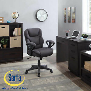 Manager Chair Computer Office Desk Mesh Fabric Big Tall Adjustment Upholstered