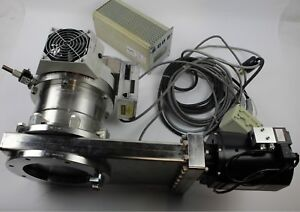 Pfeiffer Tc600 Vacuum Turbo Pump With Components