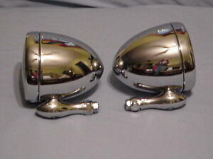 Stainless Steel Dummy Spot Lights 1 Pair Free Shipping In Usa