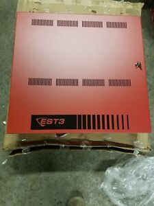 Edwards Est Ge 3 rcc7r Fire Alarm Red Pull Box Only Empty