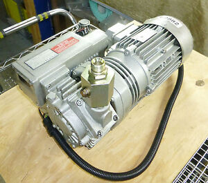 Vacuum Pump Rietschle Thomas Vcb 20 1 2hp 220 440v 3 Phase Packing Casting