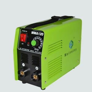 110v 220v Portable Welding Machine Dc Inverter Mma Welder Mma120 Y