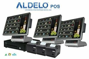 Aldelo Approved Pos Pro Cash Register Computer System For Restaurants