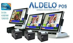 Aldelo Approved Pos Pro Cash Register Computer System For Restaurants All New