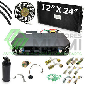 Universal A c Underdash Evaporator Kit Fits Cars And Trucks Ev9035kd