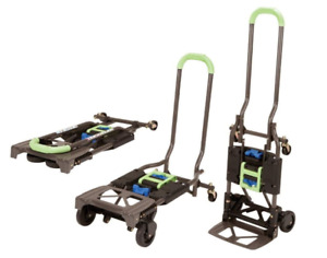 Folding Hand Truck Dolly Convertible Heavy Duty Appliance Push Cart Collapsible