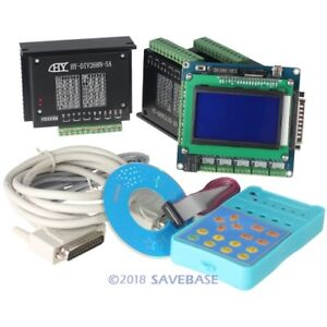 3 Axis Cnc Router Diy Kit 5 Axis Breakout Board 3 Tb6600hg Stepper Motor Driver