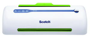 Scotch Pro Thermal Laminator 2 Rollers 9 Inches Throat 3 To 5 Mil Pouches