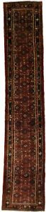 Lovely Allover Design Runner Hossainabad Persian Rug Oriental Area Carpet 3x13