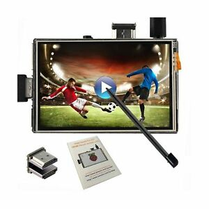 Osoyoo Touch Screen Lcd Monitor Hdmi Display 3 5 Inch Tft Audio Output With