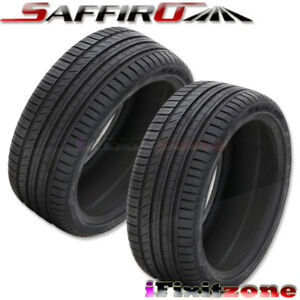 2 New Saffiro Sf5000 255 35zr18 94y All Season High Performance Tires