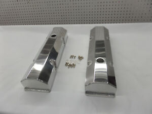 Sbc Fabricated Tall Aluminum Valve Covers W Accessory Holes