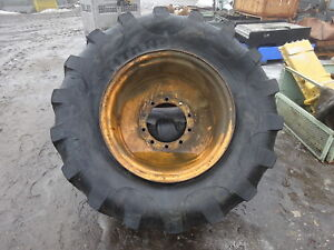 Case 780d Rear Tires Rims 21l 28 Backhoe Loader 780