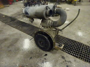 Ingersoll Rand 250 Cfm Airend Air Compressor End Pump Deutz Diesel Ir