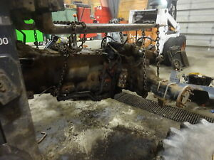 New Holland Ts110 Tractor Complete Transmission Rear Assy 4wd Mfwd Tractor