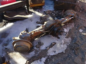 New Holland Ts110 Tractor Front Axle 4wd Mfwd 4x4 Ts 110 Complete Ford