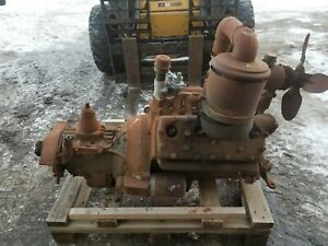 1936 36 Ford V8 Flathead Motor And Transmission Shipping Included
