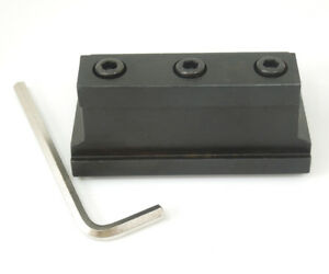 Smbb2026 Cut off Tool Holder Plate Base Block For Spb226 326 426 Parting Blade