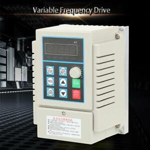 Ac220v Variable Frequency Drive Single phrase Vfd Speed Controller Inverter Oe