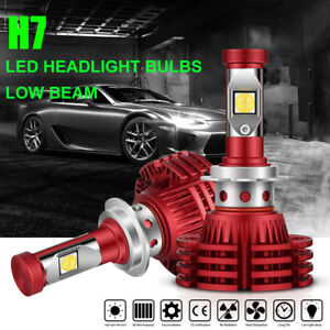 Autofeel H7 192000lm 1280w Osram Led Headlight Kit Car Bulb 6500k Low Beam Power