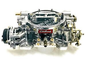 1406 Edelbrock Carburetor 600 Cfm Electric Choke