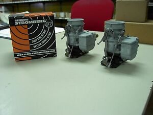 2 Brand New 1932 Ford Roadster Coupe Barn Find Stromberg 97 Carb Carburetors