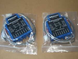 Lot Of 2 B B Electronics Rs 485 485opdr Isolated Repeater