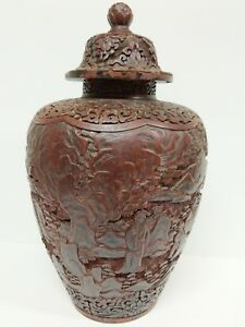 An Antique Cinnabar Ginger Jar Definitely It Is An Antique Must See In Person