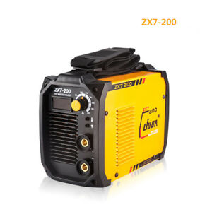 Zx7 200 Mini Welder Igbt Portable Welding Inverter Mma Arc Welding Machine Y