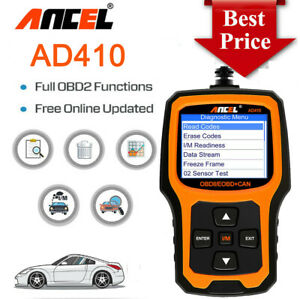 Ancel Ad410 Auto Obdii Scanner Fault Code Reader Obd2 Car Diagnostic Scan Tool