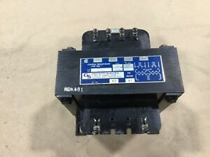 General Signal W750 Control Transformer 750kva Type Sbw Series A 387dk