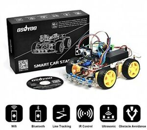 Osoyoo Robot Smart Car For Arduino Diy Learning Kit With Tutorial Android Wifi