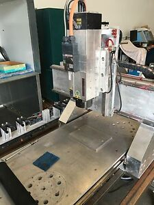 K2 Cnc Router Mill Cad cam Machine Tool Changer High Speed Spindle Billet