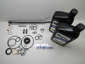 Aftermarket E47 Snow Plow Pump Rebuild Kit Seals Ram Strainer Oil Filters