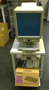 Canon Microprinter 90 M32043 Microfiche Microfilm Reader Autocarrier 100r As is