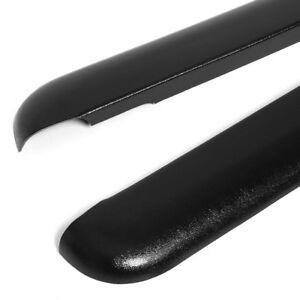 For 96 04 Toyota Tacoma 6ft Bed 2pcs Black Truck Rail Caps Molding Protector