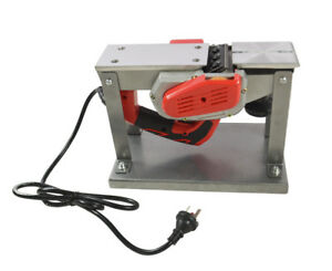 220v Small Flat Planning Machine Electric Planer Portable Planer Woodworking Us