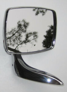 1968 1969 Buick Skylark Gs Les Lh Outside Rear View Mirror Oem 1383841 981425